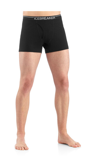 Icebreaker Men's Oasis Boxers W/Fly black